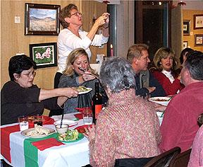holiday art feast 2009