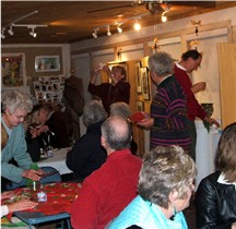 building expansion holiday art feast 2008