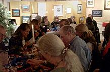 holiday art feast 2010