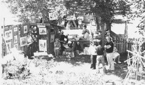 first Art Fair 1974