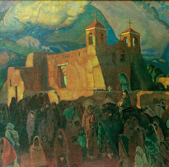 Blumenschein-Fiesta Ranchos Church-sm