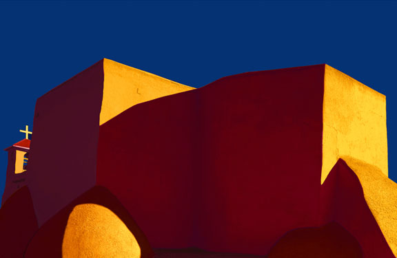 Jim Hanks-Sundown, San Francisco De Assis Church, Taos
