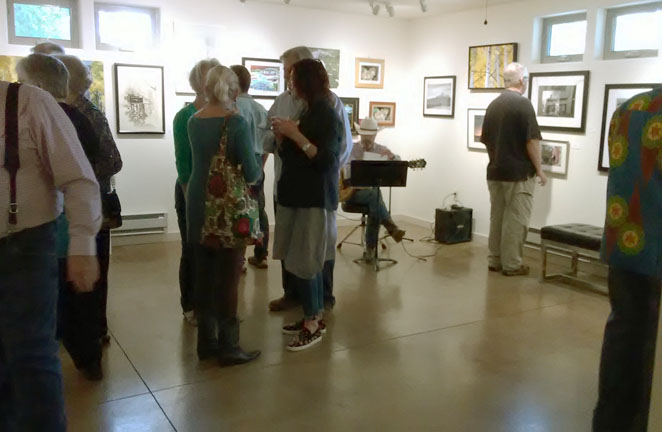 photo show reception-Fuller Gallery