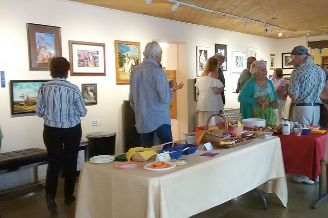photo show reception-Main Gallery