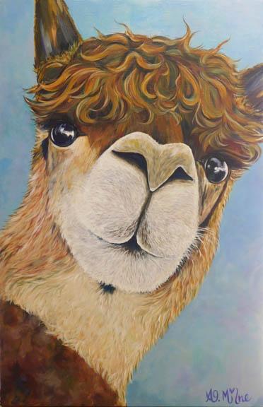 Amy Milne - Ramma Llama