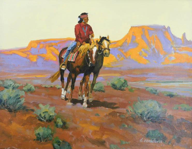 DougCandelaria-NavajoHorse